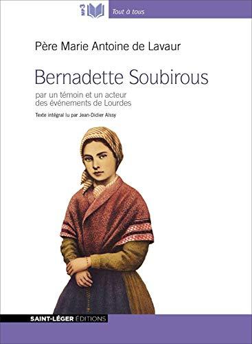 Couverture de Bernadette Soubirous