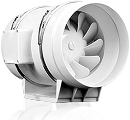 ZSQAW 4 Inch Extractor Fan 35% OFF Low Hydroponic Noise Max 78% OFF Duct Inline Air