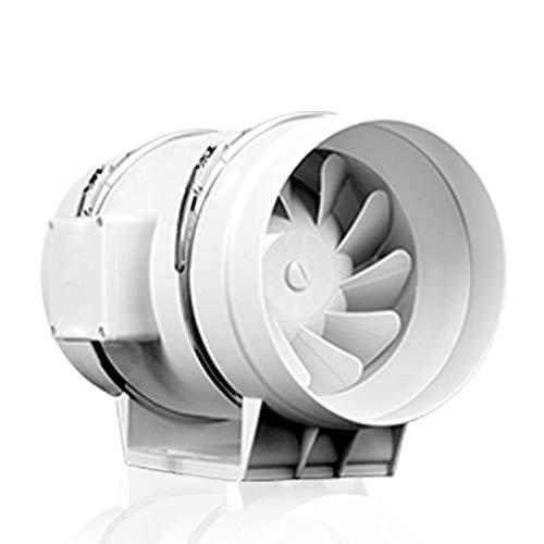 LXZDZ Ventilador extractor de 4 pulgadas, conducto en línea de bajo ruido, ventilador hidropónico, ventilador de escape para el hogar, baño, habitación de cultivo, ventilación, ventilación