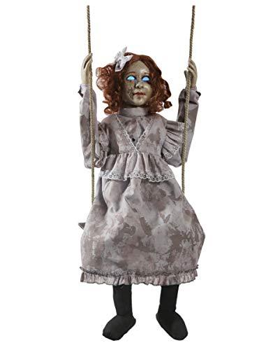 Horror-Shop Mecedora Scary muñeca animatronic