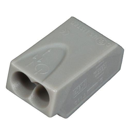 ViD® 1002251 Verbindungsklemmen/Steckklemmen grau 1,0-2,5 mm² 100 Stück