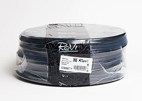 Kabel RV-K 0,6/1kV 5x1,5mm 100m (schwarz)