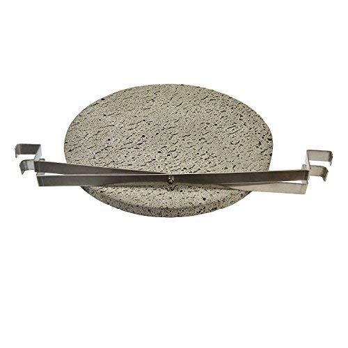 Vision Grills Lava Cooking Stone for Pizza, Meats, Seafood and Vegetables (14)