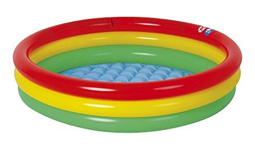 Jilong Baby Pool 100x22 cm kinderzwembad kinderzwembad kinderzwembad kinderzwembad met opblaasbare veiligheidsbodem