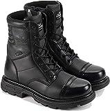 Thorogood 834-6888 Men's Gen-flex2 Series 8' Tactical Side Zip Jump Boot, Black - 9 D(M) US