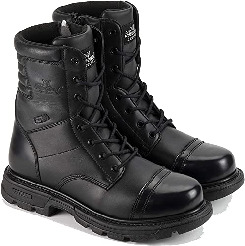 "Thorogood 834-6888 Men's Gen-flex2 Series 8"" Tactical Side Zip Jump Boot, Black - 11.5 W US"