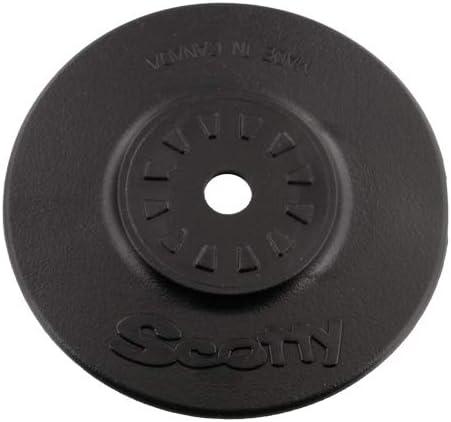Scotty #443 D-Ring w//3 Stick-On Mount