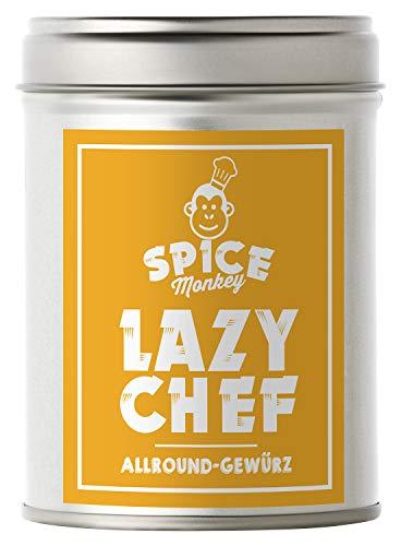 Lazy Chef, Allroundgewürz à la Café de Paris verfeinert Fisch, Fleisch, Geflügel, Nudeln, Quark & Dips, 120 g