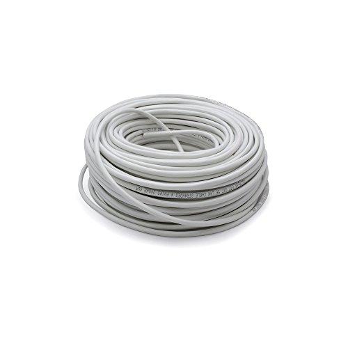 Vultech SC13502-50 Matassa Lan Categoria 6 UTP 50 Metri 23AWG Bobina di Rete Ethernet 50m Cat6, 100 Ohm