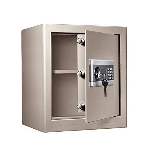 Cajas de seguridad Caja de depósito vertical de aumento, contraseña electrónica Hogar pequeño 43 cm Gabinete de almacenamiento pequeño para el hogar Gabinetes de archivos comerciales de oficina Gabine