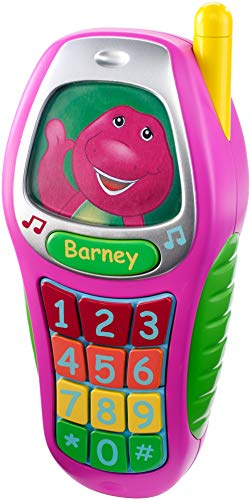 Fisher-Price Barney Best Manners Phone, Pink