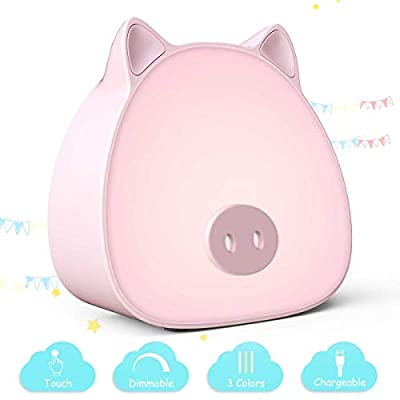 LED Nursery Night Lights for Kids: Baby Girl Gi...