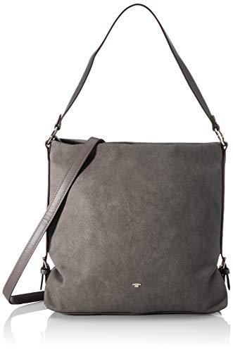 TOM TAILOR bags PERUGIA Damen Schultertasche one size, dark grey, 32x11,5x29