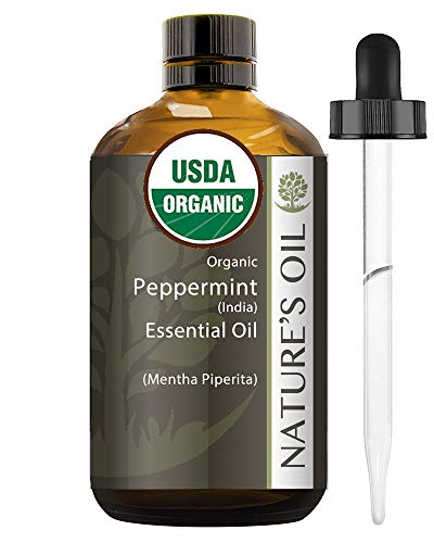 Best Peppermint Essential Oil Pure Certified Organic Therapeutic Grade 60ml