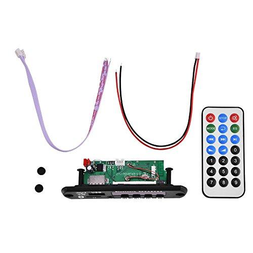 Bluetooth MP3 WMA Decoder Board 12V Wirelss Módulo de Audio USB SD FM Llamada con Manos Libres