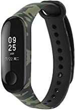 MStick Silicone Camouflage Army Style Band Strap for Xiaomi Mi Band 3