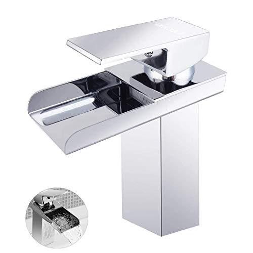 MEKUULA Robinet Lavabo salle de bain, Moderne Désign...