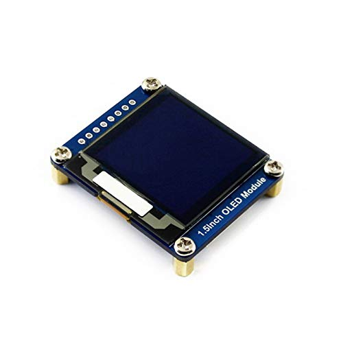 Led WAVESHARE 128x128 General 1.5inch OLED Display Module 16 Gray Scale with SPI/I2C Interface.