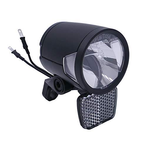 P4B | Fahrradlicht für E-Bike - 6V und 12V | 180 Lumen (ca. 60 Lux) | Integrierte LED-Kühlungselemente für eine optimale Lichtleistung bei langen Fahrten | Scheinwerfer E-Bike
