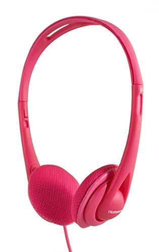 Telefunken KH5000 pink On-Ear Kopfhörer (besonders leicht, 1,2m Kabel)
