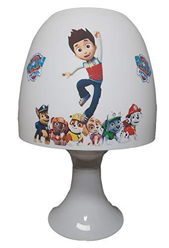 ✿ Tischlampe Kinder ✿ * Ryder Chase Rocky Rubble * personalisiert mit oder ohne Name ✿ Tischleuchte ✿ Schlummerlicht ✿ Nachttischlampe ✿ Lampe ✿