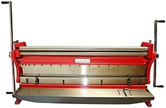 Blechbiegemaschine 1000mm mit max 135/° Biegewinkel /& 1mm Faltkapazit/ät manuelle Blechbearbeitung