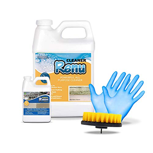 Renu Cleaner Concentrate Whole House Kit-Powerful Pro Strength Cleaner Removes Ugly Green Stains, Oxidation & More. Cleans A Whopping 3000 SF