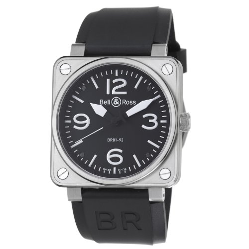Bell & Ross BR01-92STEEL - Orologio da polso da uomo