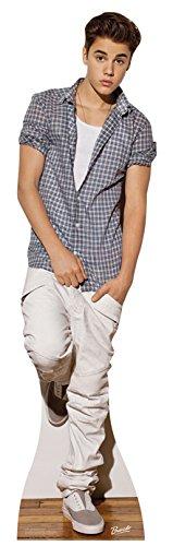 falksson Aufsteller aus Pappe Justin Bieber in Lebensgröße 170 cm