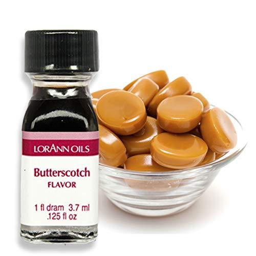 LorAnn Butterscotch Super Strength Flavor, 1 dram bottle (.0125 fl oz - 3.7ml)