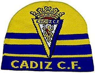 Cádiz CF Grrcad Gorro, Amarillo/Azul, Talla Única: Amazon.es: Deportes y aire libre
