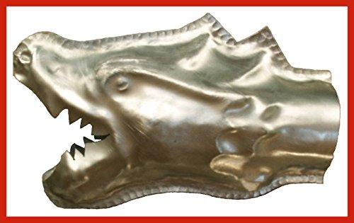 Wasserspeier Drachenkopf Titanzink in den Größen 30, 42 und 65 mm (C)