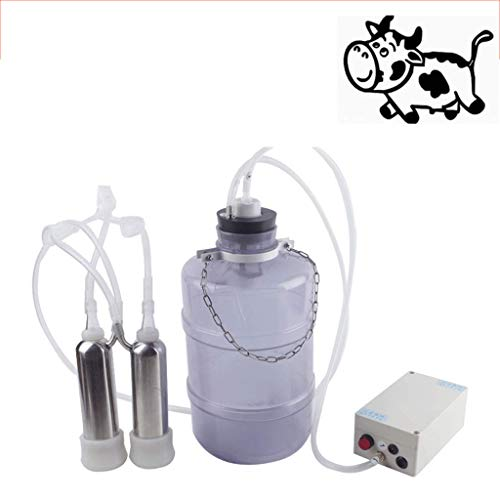 Fantastic Prices! DONGY Milking Machine for Cows Milk Cow Milk Pump Milk Pumping Machine Electric Ho...