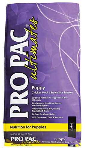 Midwestern PRO PAC Ultimates Dry Dog Food, 28 Pound, Puppy Chicken & Rice