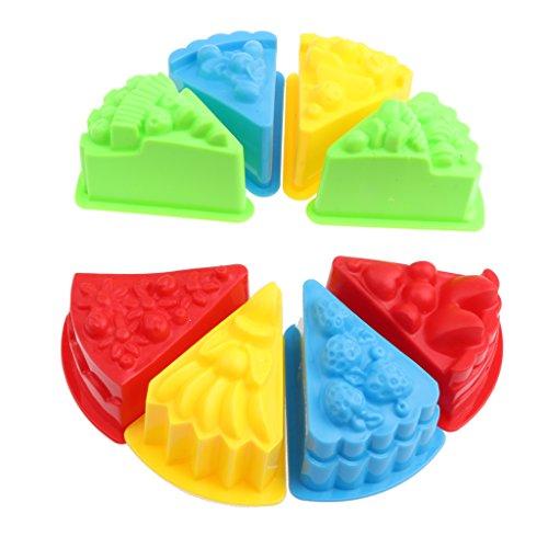 D DOLITY Mini Sandformen Burg Kuchen EIS Tiere Auto Sand Form aus Kunstsoff Sandspielzeug für Kinder ab 3 Jahre alt - # 10