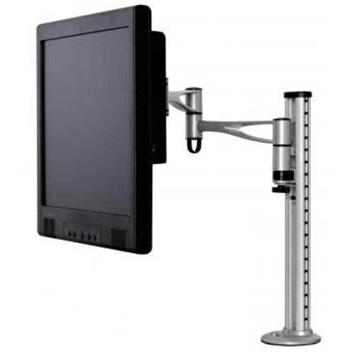 Verstelbare Twin Arm Desktop Mount voor LCD Flat Panel Screens 10