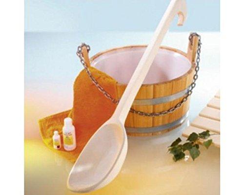 Sauna accessoireset opgietbak commercieel 17 l met pollepel 80 cm