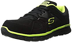 Sketchers for Work Men's Synergy Ekron Alloy Toe Work Shoe