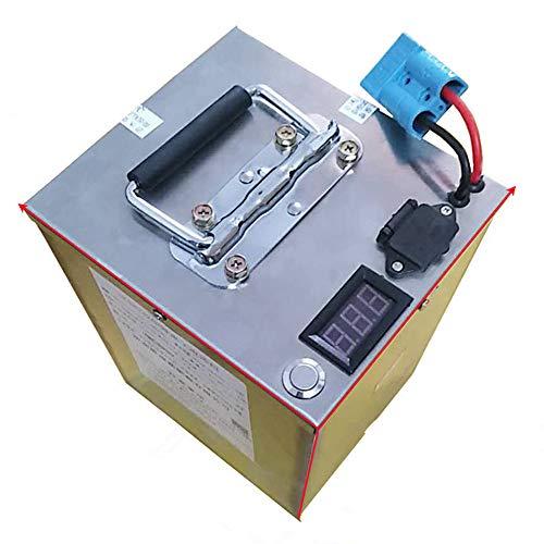 SHUNBIN High Power 2000W 48V 20AH 30AH 40AH 60AH Batterie de vélo électrique 48Volt 20AH E-Bike Scooter Batterie Lithium Batterie avec BMS (48V 40Ah with Quick Charger (32cm×15.5cm×19.5cm))