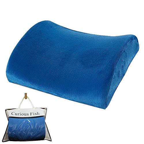 Rückenstützkissen Lendenwirbelsäule orthopädische Schmerzen Ergonomischer Memory verhindern Ischias steißbein 3D Therapie stühle Sitz verbessern Haltung Sofortige Erleichterung Bürosessel Roll sofa