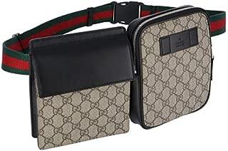 GUCCI(グッチ) バッグ メンズ Belt Bags ボディバッグ/ウエストポーチ BEIGE/EBONY+NERO-VRV 450956-K6RHX-9678 [並行輸入品]