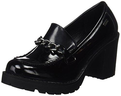 MTNG Tina 51157, Zapatos Tacón Mujer, Negro Mila