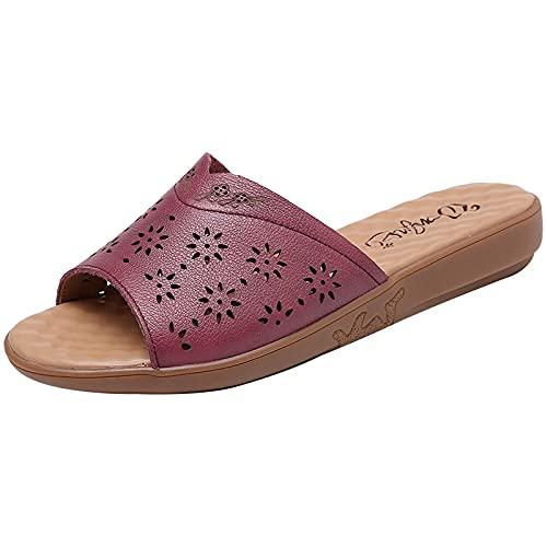 Kirin-1 Zapatillas De Casa para Mujer Verano,Zapatillas De Novia,Zapatillas De Verano, CóDigo...