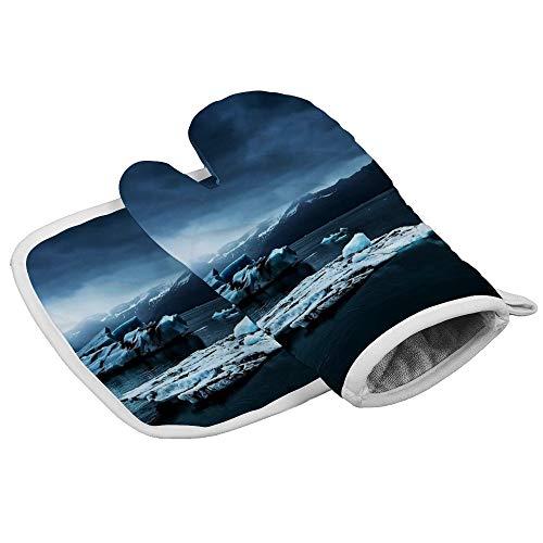 HOTLIFE-234 Isolatie Handschoenen IJsland Fotografie #tapijt #block -up Hittebestendige Keuken Pot Houder en Oven Mitt Set Voor bbqmagnetron regelmatig