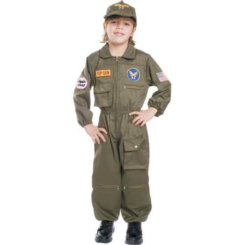 Dress Up America Kinder Air Force Pilot Kostüm