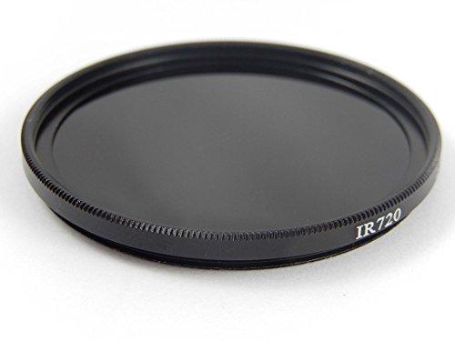 vhbw Filtro de Infrarrojos Universal 62mm 720nm para cámaras Tamron SP 70-300 mm 4-5.6 Di VC USD