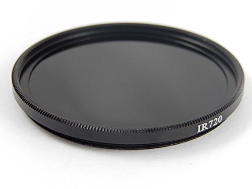 vhbw Universal Infrarot Filter 55mm 720nm für Kamera Nikon AF-P 18-55 mm 3.5-5.6G DX VR