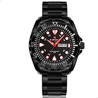 Naviforce 9105 B-B-R Analog For Men, Dress Watch
