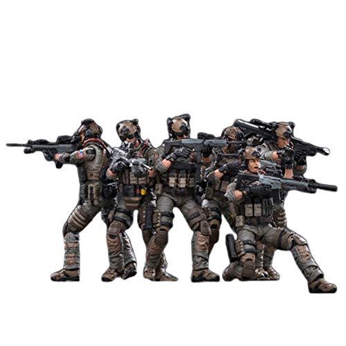 Matuke Action Figuren Modell, 10.5CM Soldat Modell Actionfigur Modell Spielzeug Geschenk für Kinder und Erwachsene, 1: 18