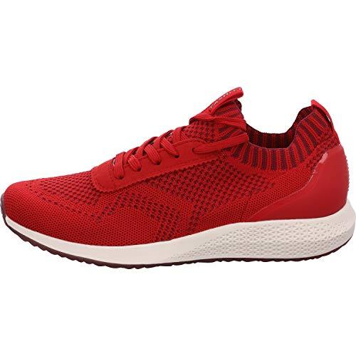 Tamaris Damen Sneaker Größe 42 EU Rot (rot)